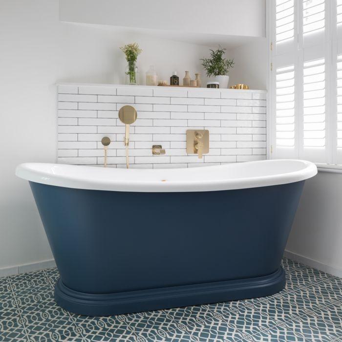 Acrylic Boat Bath Bc Designs