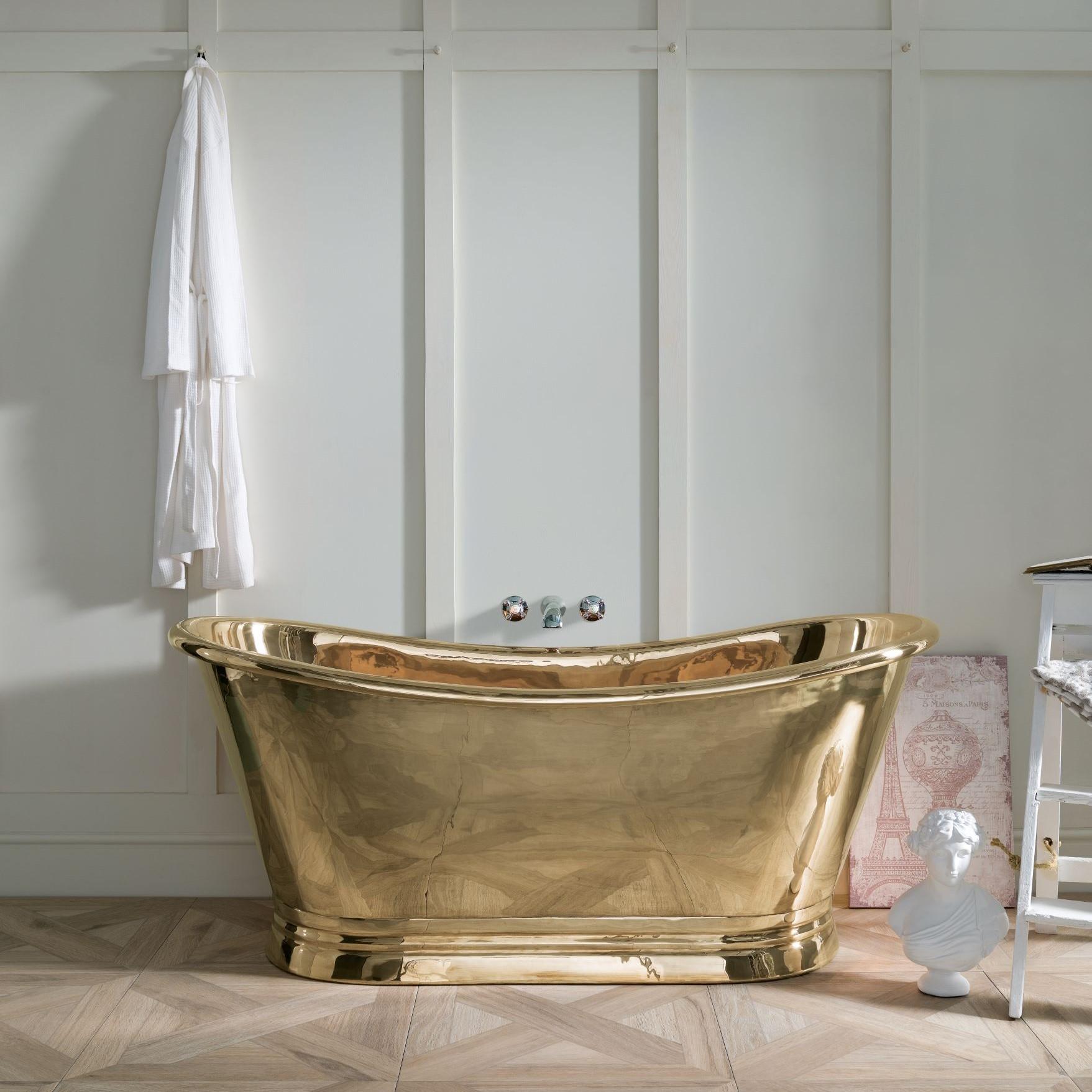 Brass Boat Bath