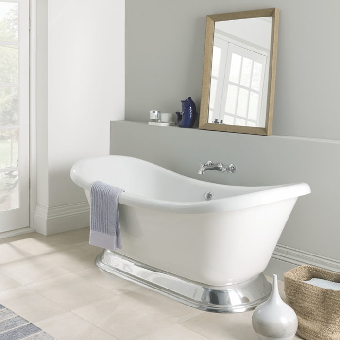Excelsior Acrylic Bath with Plinth