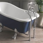 Victrion Deck Mounted Lever Bath Shower Mixer