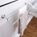 Victrion Double Towel Rail