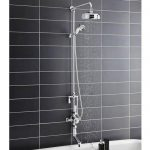 Victrion Triple Valve with Shower and Spout Bath Filler