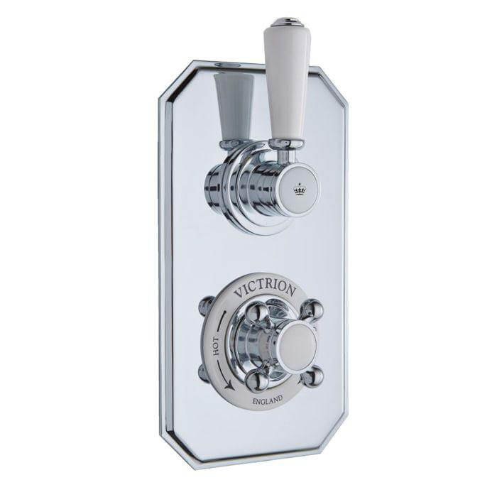 Victrion Twin Concealed Shower Valve