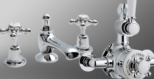 BC Designs taps and shower valves