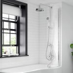 BC Curved P Bath Screen