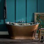 Antique Copper/Nickel Boat Bath